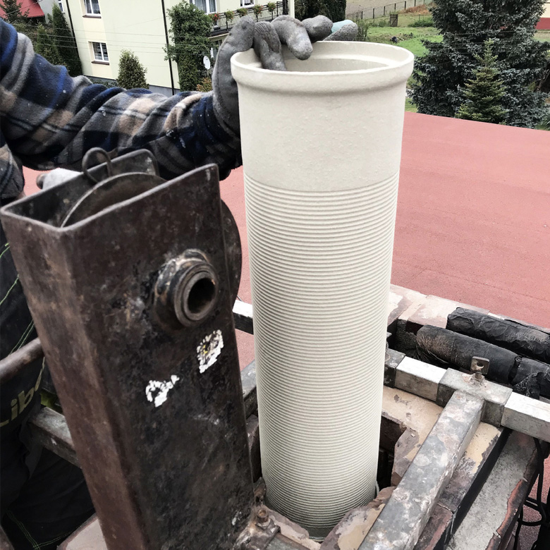 montaż wkładów kominowych