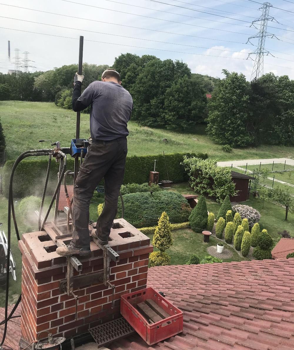 naprawa kominów