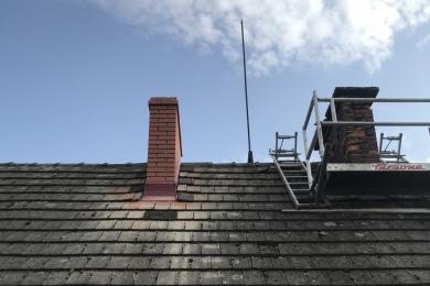usługi szlamowania i frezowania kominów